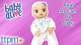 Baby Alive Real As Can Be Baby from Hasbro