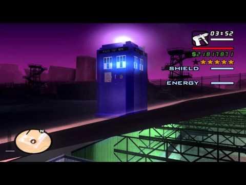 GTA San Andreas: Doctor Who Mod Pack V3 Teaser