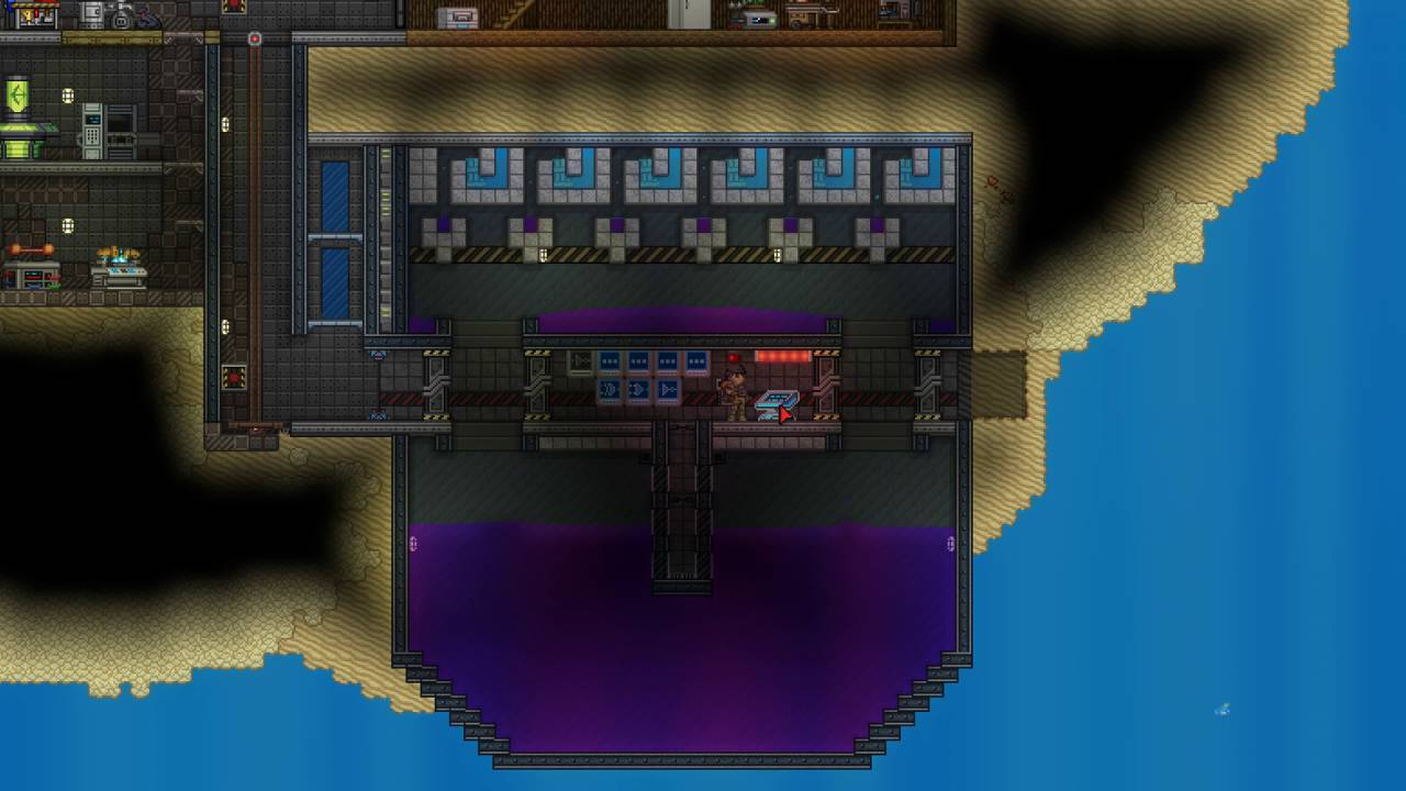 Starbound Erchius Fuel Machine Wiring Station In