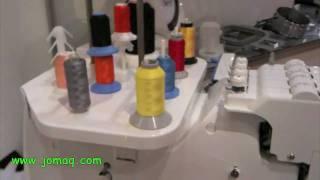Elna 9900 - embroidering machine