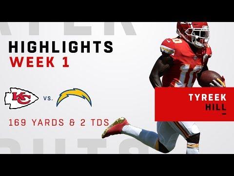 Tyreek Hills Huge Game w/ 169 Receiving Yards & 2 TDs!
