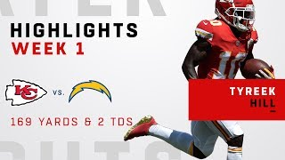 Tyreek Hill's Huge Game w/ 169 Receiving Yards & 2 TDs!