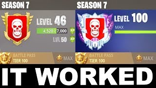 this CHEAT will get YOU MAX TIER 100... (Season 7 Secrets)