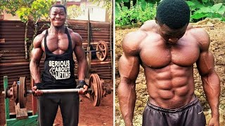 Samuel Kulbila - African Bodybuilder | No Excuses