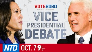Full Debate: 2020 Vice-presidential debate between Mike Pence and Kamala Harris | China in Focus