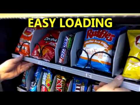 KM408 (KVM-G432) - Small Refrigerated Snack/Drink/Combo Vending Machine