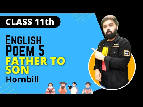 father to son class 11 in hindi