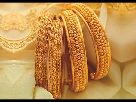 Latest top 20 Gold chur churi bala bangles designs | gold ...