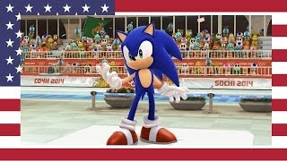 Mario & Sonic at the 2014 Olympic Winter Games - Speed Skating