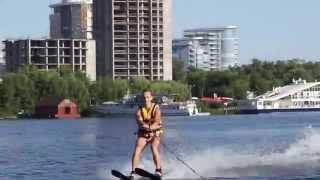 Водный серфинг. Водные лыжи.