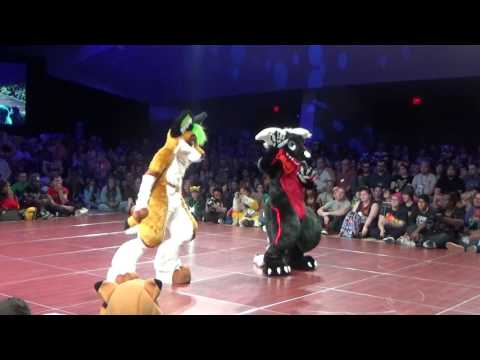 FWA 2017 Fursuit Dance Competition Group  Cause and Effect
