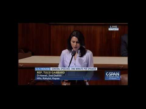 Rep. Tulsi Gabbard Opposes Attack on Net Neutrality