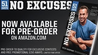 51 Days: No Excuses by Rich Gaspari, Chapter 3 Book Preview, When You Hit Rock Bottom
