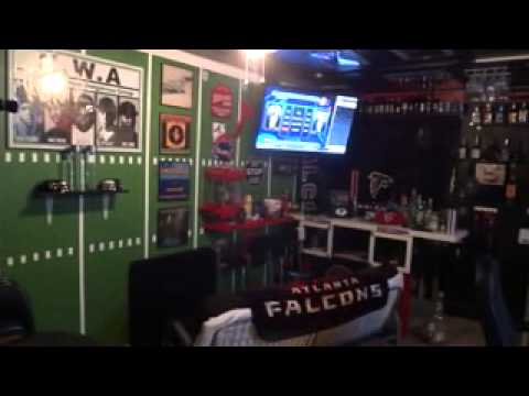 Atlanta Falcons Mancave Quot Primetime 3stacks Quot Youtube