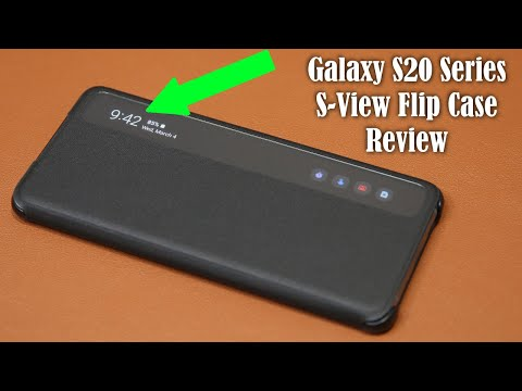Official Samsung Galaxy S20 Series S-View Flip Cover Case Review from YouTube · Duration:  6 minutes 50 seconds