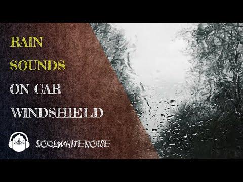 Rain On Car Windshield To Help You Obtain A Deep And Restful Sleep
