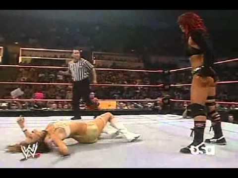 Trish stratus vs victoria women039s championship match - 4 1