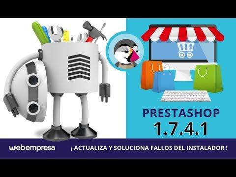 Prestashop 1 7 4 1 Soluciona Fallos Del Instalador