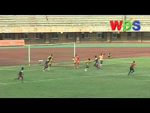 Kampala city council football club tame a ten-man Cosmos De Bafia from Cameroon