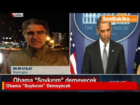 ABD Başkanı Obama 24 Nisan'da Soykırım Demeyecek.