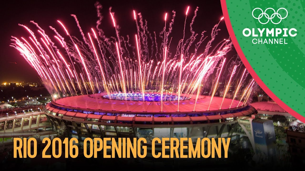 Rio Olympic Rio 2016 Opening Ceremony Full Hd Replay Rio 2016 Olympic Games