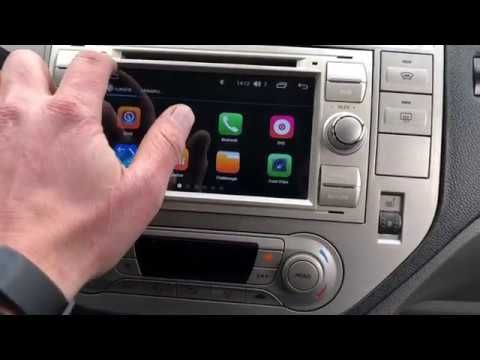Ford Kuga Removal Radio Octo Core Parking Camera Youtube