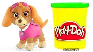 Paw Patrol Play Doh SKYE & Play Doh Toys