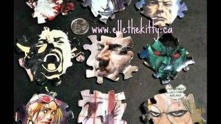 Goth, punk, Alternative fashion decora and accessories, all indie, handmade one of a kind under $12 Thumbnail