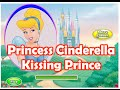 Disney Princess Games For Girls To Play - Disney Cinderella Kiss The Prince Game