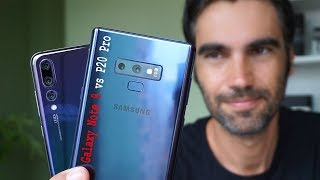 Huawei P20 Pro vs Samsung Galaxy Note 9 | review comparativa en español