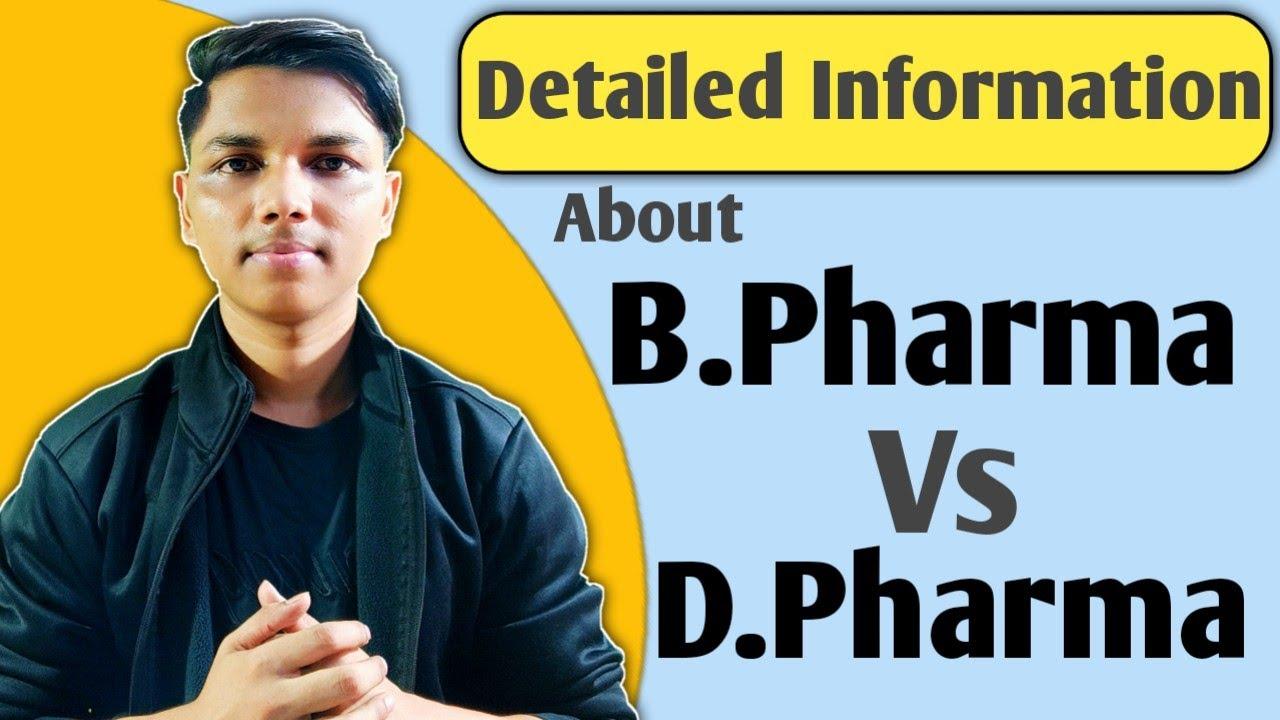 B.Pharma vs D.Pharma || Detailed information || new indian era || #nie