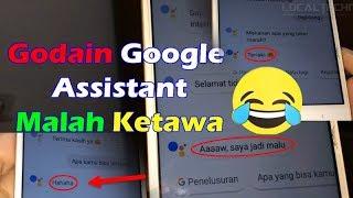 Lucunya Google Assistant 2019 Bisa Tertawa | Bernyanyi dan Kocak Kalau Diajak Curhat MP3