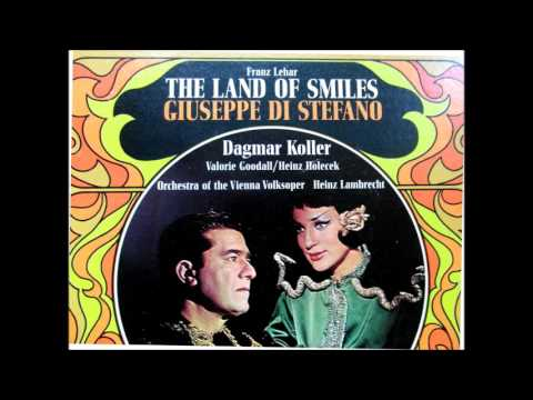 The land of smiles (1967), complete record with Guiseppe di Stefano (in german)