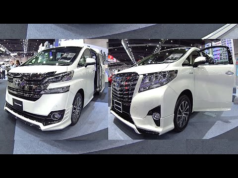 Best Luxury Van Toyota Vellfire Vs Toyota Alphard 2016 2017 Model