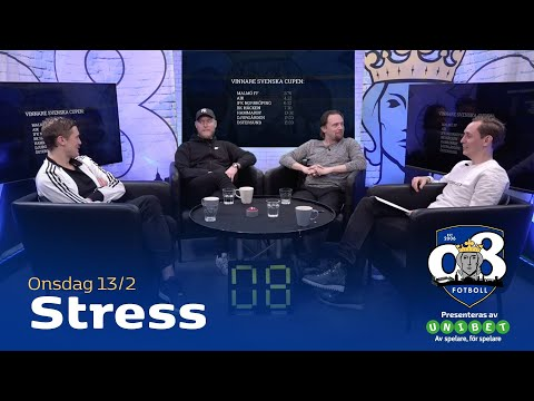 08 Fotboll: Stress