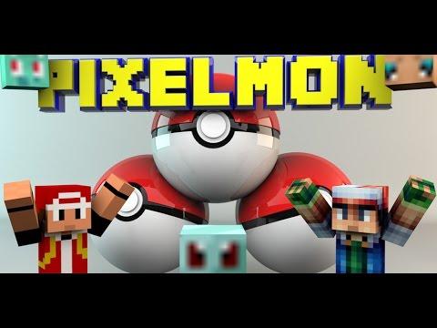 Как лечить покемонов в pixelmon