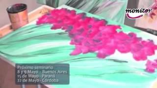 Repeat youtube video MONITOR   Gabriela Mensaque   FLORES   utiliza productos Monitor   Fusión CREAR