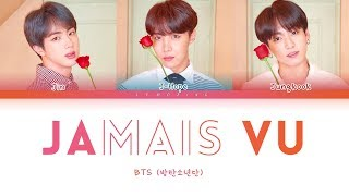 Gambar cover BTS - Jamais Vu (방탄소년단 - Jamais Vu) [Color Coded Lyrics/Han/Rom/Eng/가사]