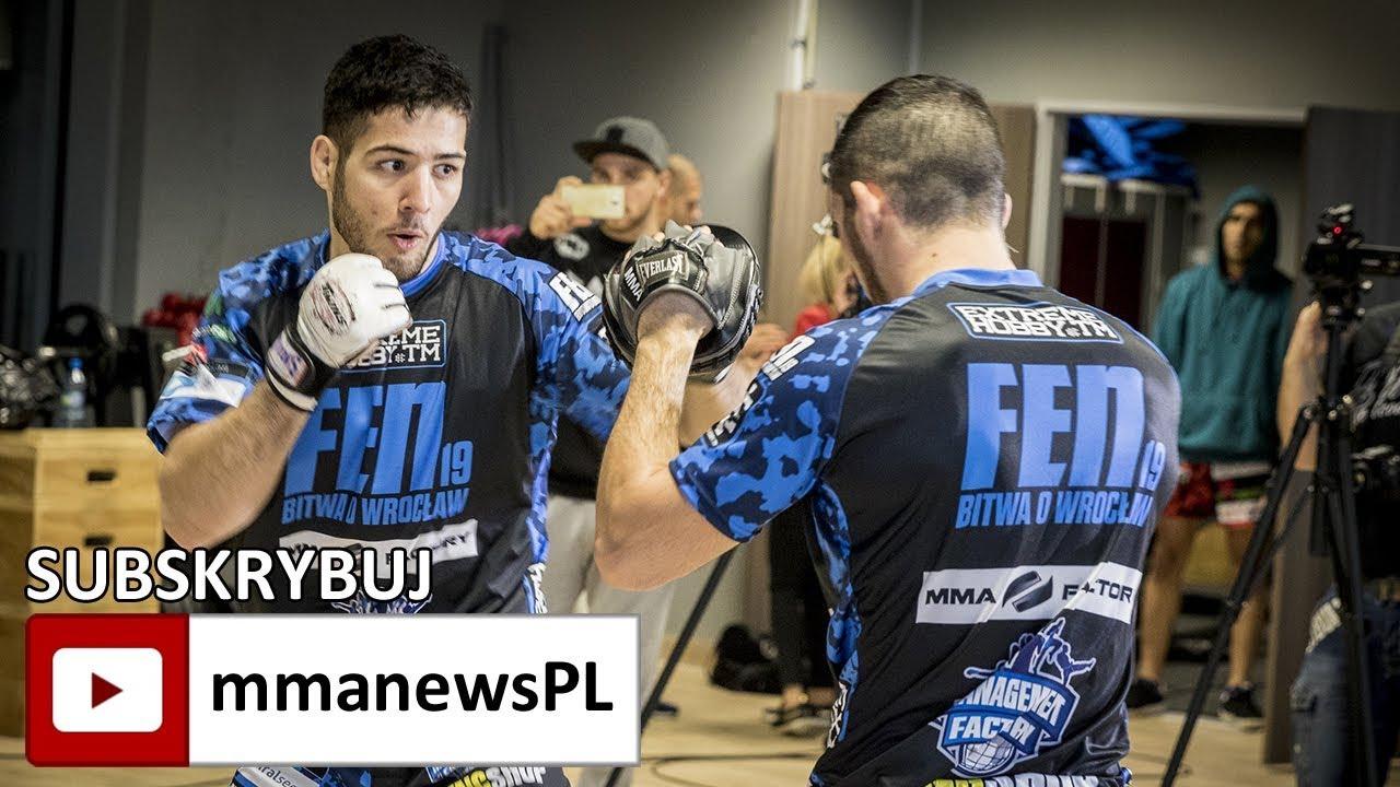Nassourdine Imavov na media treningu FEN 19