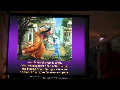 "ISKCON Toronto - HG Dravida das - Meditation of Lord Krsna through the the glorious ""sweet"" song"