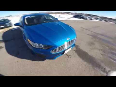 Ford Fusion Se Hybrid Blue/ Francois Ford/ Madison Wi Area