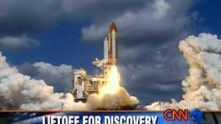 STS114 - Space Shuttle Discovery launch - CNN coverage
