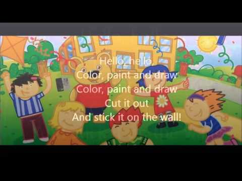 In the Classroom song (Fun with Teddy!)