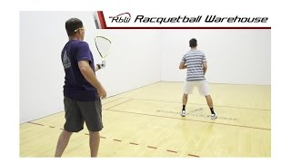Racquetball Doubles Strategy: Front and Back or Side to Side?