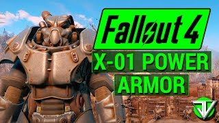 FALLOUT 4: How T๐ Get FULL SET of X-01 BEST POWER ARMOR in Fallout 4!