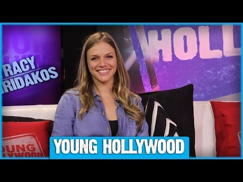 REVOLUTION's Tracy Spiridakos on Fight Scenes & Canadian Accents!