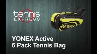 YONEX Active 6 Pack Tennis Bag Review | Tennis Express