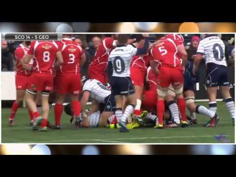 Scotland vs Georgia | Rugby Union | Autumn Internationals | HD Highlights