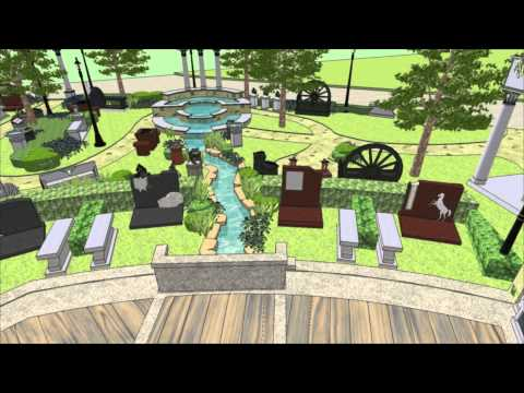 Whispering Waters Cremation Garden Tour