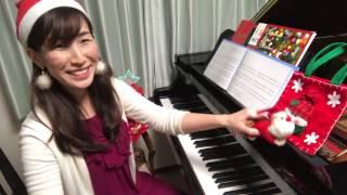 クリスマスソングメドレー〜ジングルベル〜おめでとうクリスマス〜きよしこの夜〜赤鼻のトナカイ〜を弾いてみた!